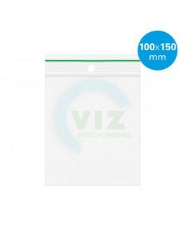 Gripzakken 100 x 150 mm  standaard