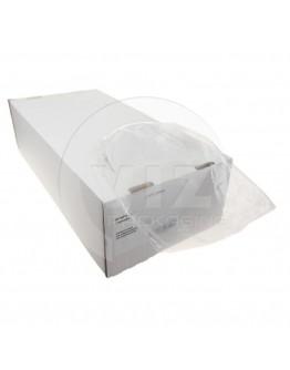 Flat poly bags LDPE, 10x20cm, 25my - 5000x