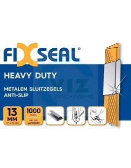 Metalen sluitzegels FIXSEAL Heavy duty KO 13mm, 1000st.