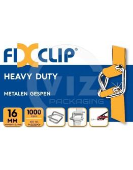 FIXCLIP Metal Buckles 16mm, 1000pcs