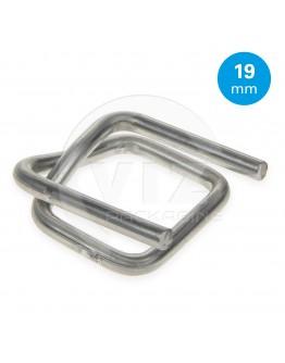FIXCLIP metalen gespen 19mm, 1000st.