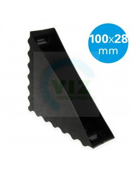 Plastic corner protector closed waved 100/28mm 4000pcs