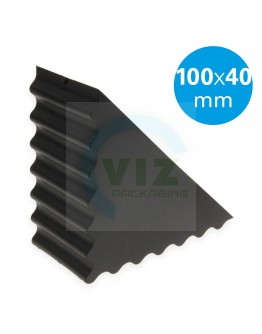 Plastic corner protector closed waved 100/40mm 2900pcs