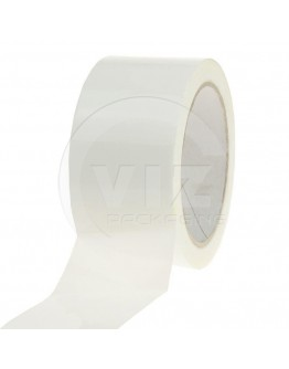 PP acryl tape 48mm/66m White Low-noise