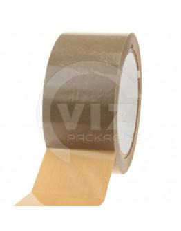 PVC solvent tape 48mm/66m Brown