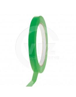 PVC solvent tape groen 9mm/66m