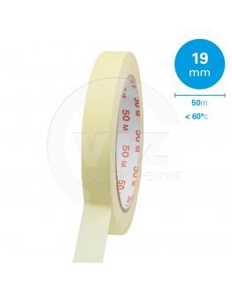 Masking tape 19mm/50m 60°C