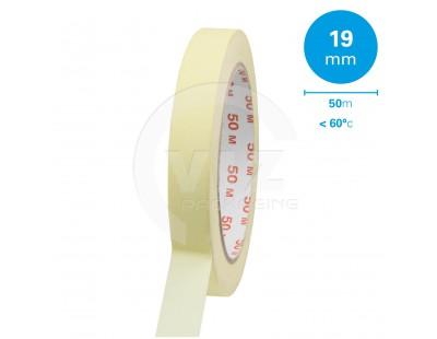 Masking tape 19mm/50m 60°C Tape