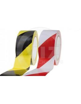 Floor Marking Tape PVC Red /White 50mm/33m