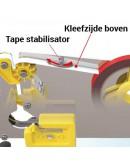Poly bag sealer H7 with knife Tape