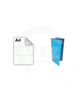 Packing list envelopes blank A4 225x122mm 1.000 pcs