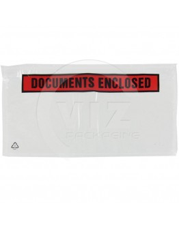 """Packing list """"Documents enclosed"""" DL 1/3-A4 225x122mm 1000 pcs"""