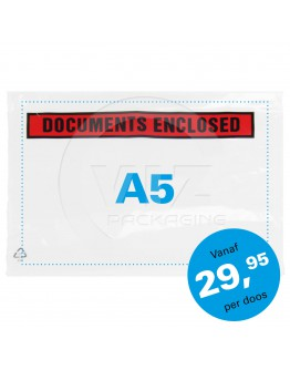 "Packing list ""Documents enclosed"" A5 225x165mm 1.000 1000 pcs"