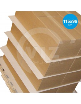 anti-skid paper sheets 115x96cm for blockpallet