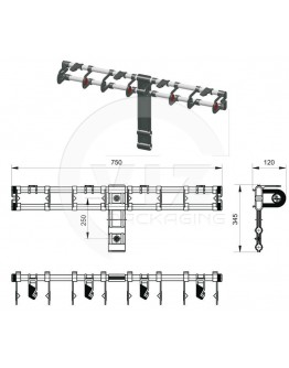 Vario adaptive ribbon dispenser