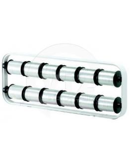 Ribbon dispenser H+R STANDARD for 12 rolls