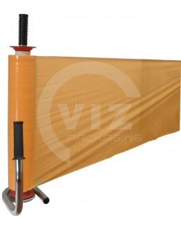 Stretch film FIXTOOLS dispenser chrome single bearing