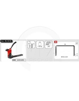 Carton closure stapler Alsafix 35/18 M1 Manual