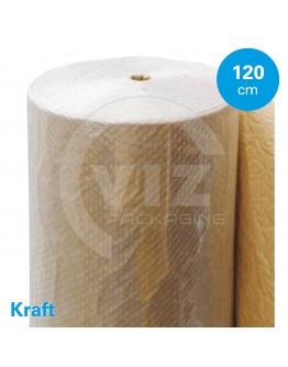 Bubble wrap Kraftpaper 120cm/100m