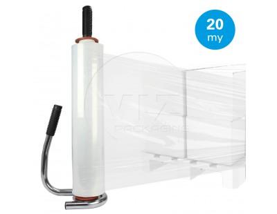 Hand stretch film 20µ / 50cm / 300m Stretch film rolls