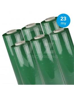 Hand stretch film Green 23µ / 50cm / 300m