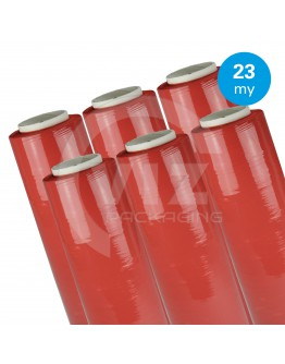 Hand stretch film red 23µ / 50cm / 270m