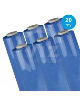 Hand stretch film Blue 20µ / 50cm / 300m
