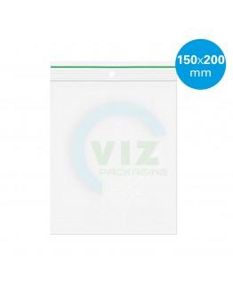 Gripzakken 150 x 200 mm  standaard