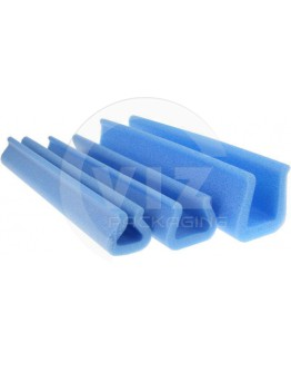 Foam profiles U-tulip 5-15mm/ 29mm/200cm (Box 280 pcs)