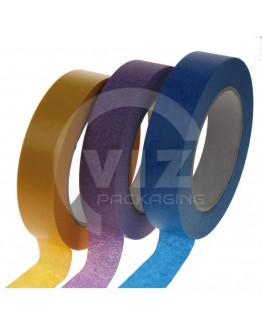 Masking tape Washi Purple low tack 25mm/50m