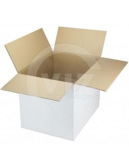 Cardboard box G Fefco-0201 white 420x320x320mm