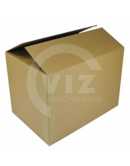 Cardboard box Fefco-0201 white 485x200x300mm