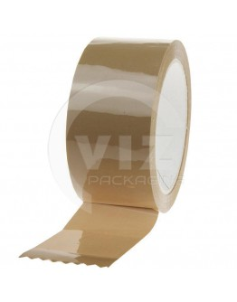PP acryl tape 48mm/66m Standaard Low-noise bruin