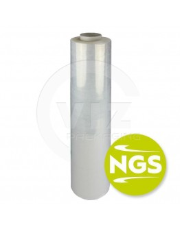 Handrolls pre-stretch New Generation Stretch film 7µm / 43cm / 600m