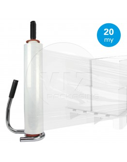 Hand stretch film 20µ / 45cm / 270m