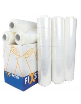 Wikkelfolie Fixstretch  17µ / 50cm / 300mtr transparant handrollen