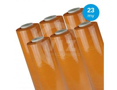 Hand stretch film Orange 23µ / 50cm / 270m Stretch film rolls