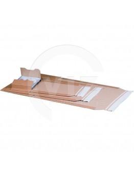 Book wrap cardboard 304 x 215 x (-) 74mm (A4)