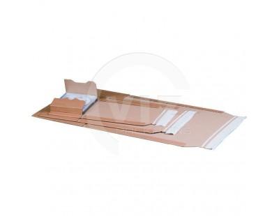 Book wrap cardboard 304 x 215 x (-) 74mm (A4)  Cartons