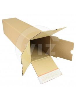 Long box with closing strip 435x105x105mm