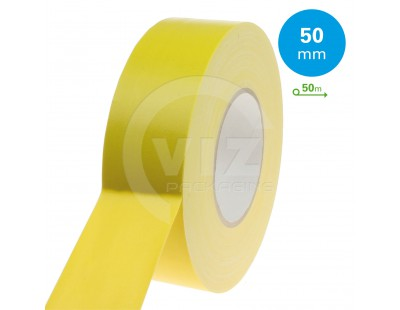 Duct tape Pro Gaffer Residue free Yellow 50mm/50m  Tape