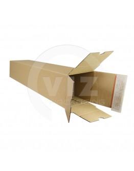 Long box with closing strip 610x105x105mm