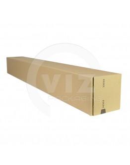 Long box with closing strip 860x105x105mm