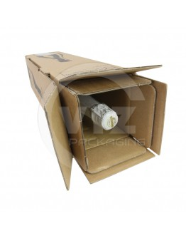 Wine shipping box for 1 bottle 105x105x420mm