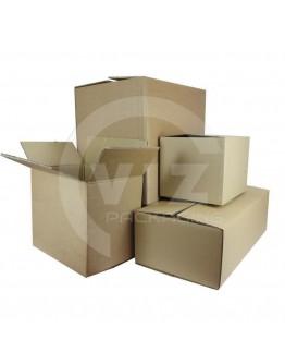 Cardboard Box Fefco-0201 DW-BE, 290x190x100mm