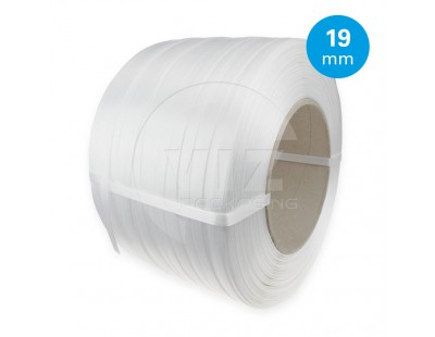 Composite strap PE White 19mm/700m Strapping