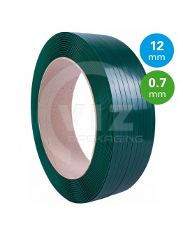 PET Strapping Green 12mm/0,7mm/2200m