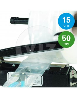 Tube film role 50µ, 15cm x 1440m roll