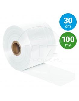 Tube film role 100µ, 30cm x 180m roll