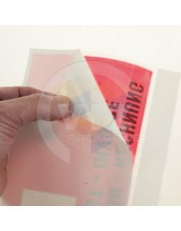 Packing list envelopes multi-language 1000pcs